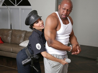 tattoo big ass Lela Star & Prince Yahshua in Bad Cop Black Cock - RKPrime