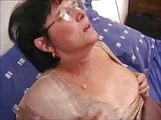 top rated mature Grandma Wakes Up Young Man For Anal Action
