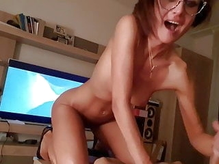 cumshot amateur She loves to ride and suck cum