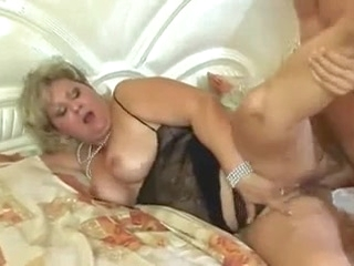 mature anal Horny chubby mature anal fucked