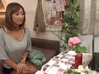 massage asian Horny Japanese Wife Massaged and then Fucked