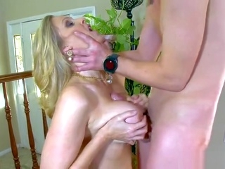 blonde big tits Hot mom porn video featuring Jessy Jones and Julia Ann
