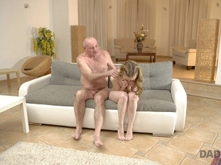 step fantasy blonde DADDY4K. Excellent old and young experience makes partners happy